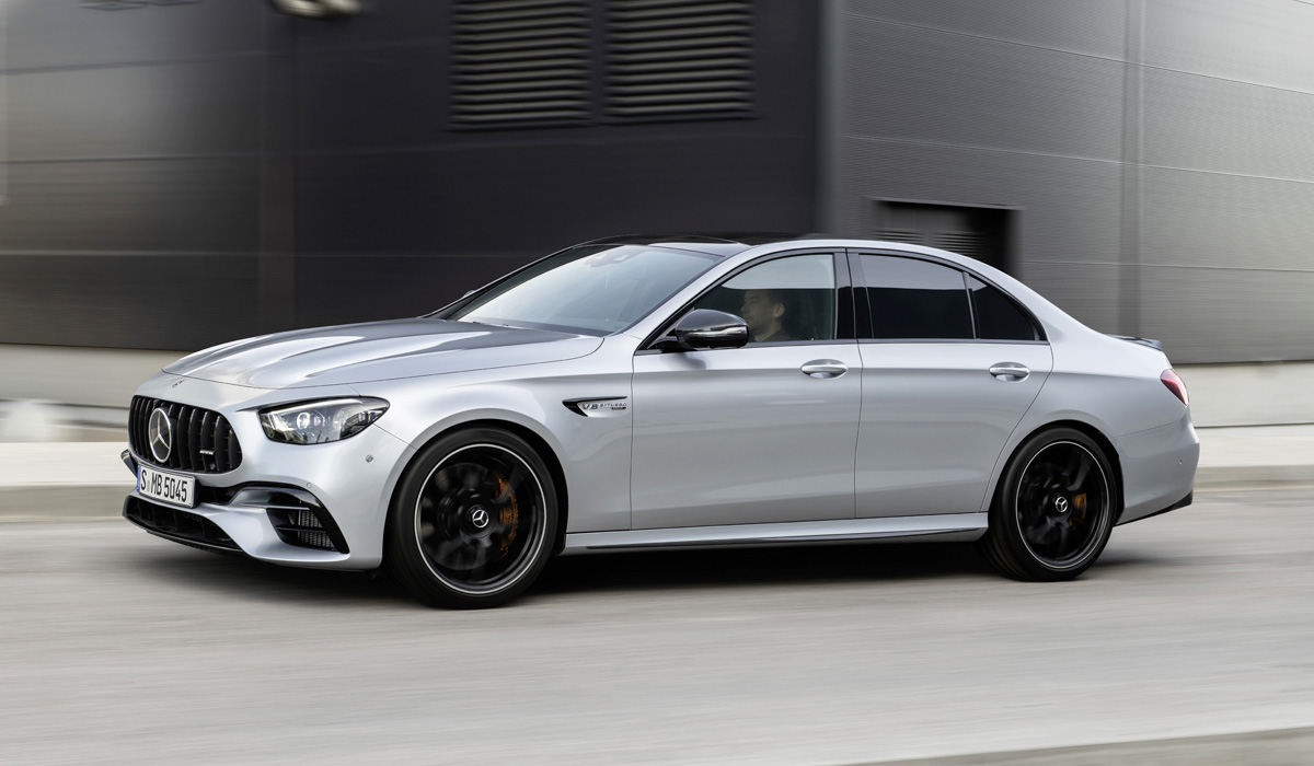 """Updated AMG models are already available for ordering. In Russia, from this Quartet, only the Mercedes-AMG e 63 s sedan will appear at a price of 8.8 million rubles. And the coupe and convertible E-class powerful """"sixty-third"""" modifications will still not be."""