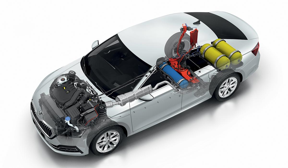Новая Skoda Octavia обзавелась метановой версией — Авторевю