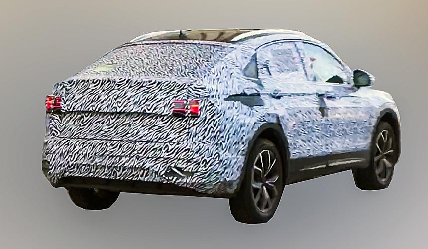 Купеобразный Volkswagen Tiguan замечен на испытаниях