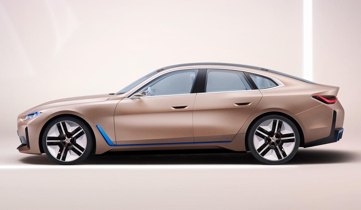 "Картинки по запросу ""BMW Concept i4"""