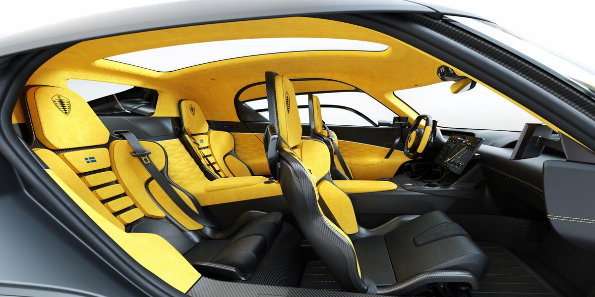 Koenigsegg Gemera: революционный двигатель и 1723 силы