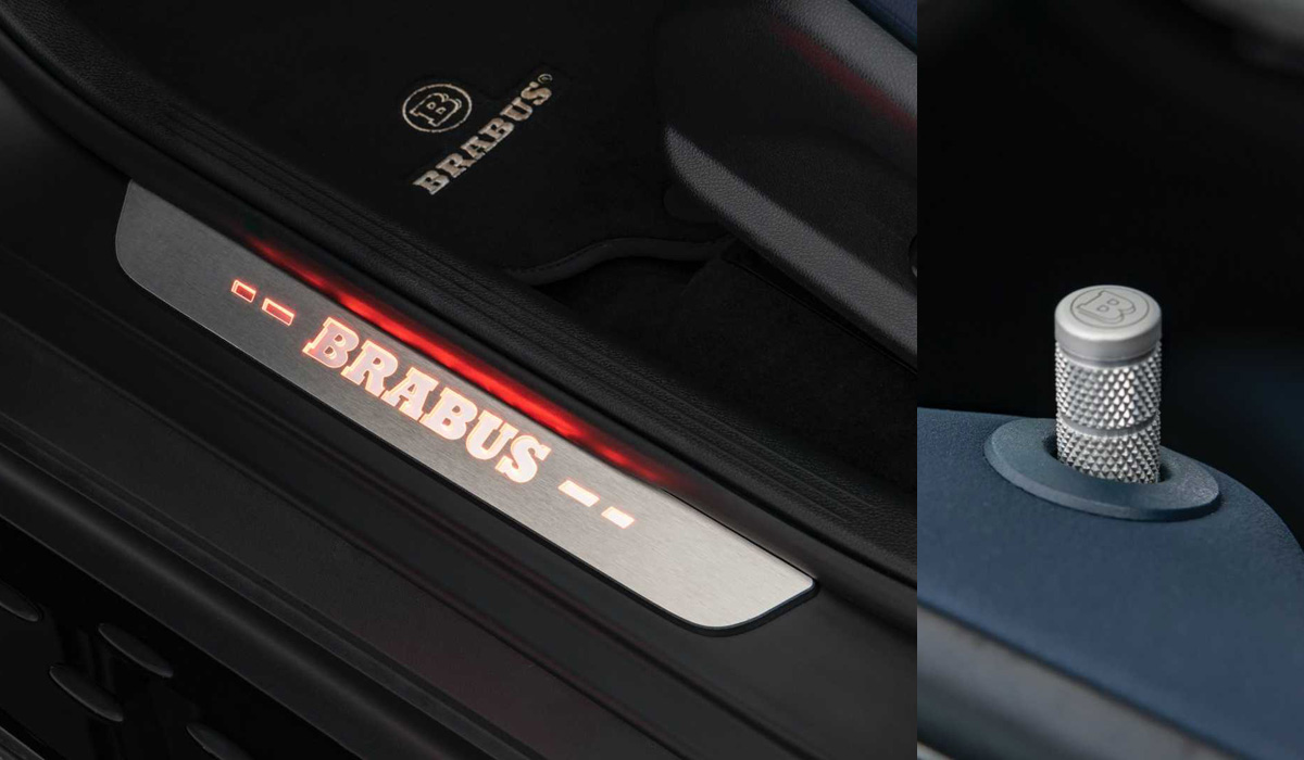 Brabus поработал над электрическим кроссовером Mercedes EQC