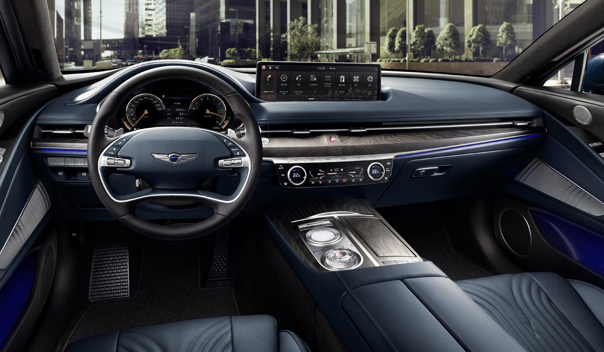 Представлен седан Genesis G80 нового поколения
