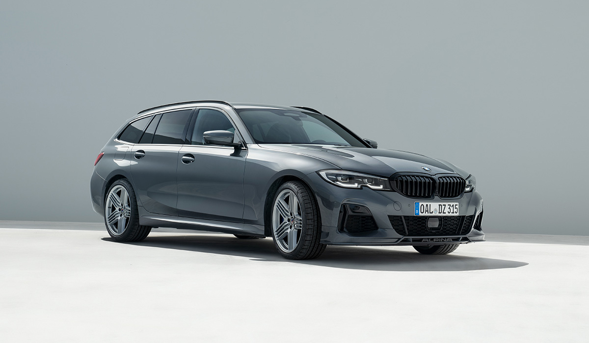 Быстрый дизель: представлены седан и универсал BMW Alpina D3 S