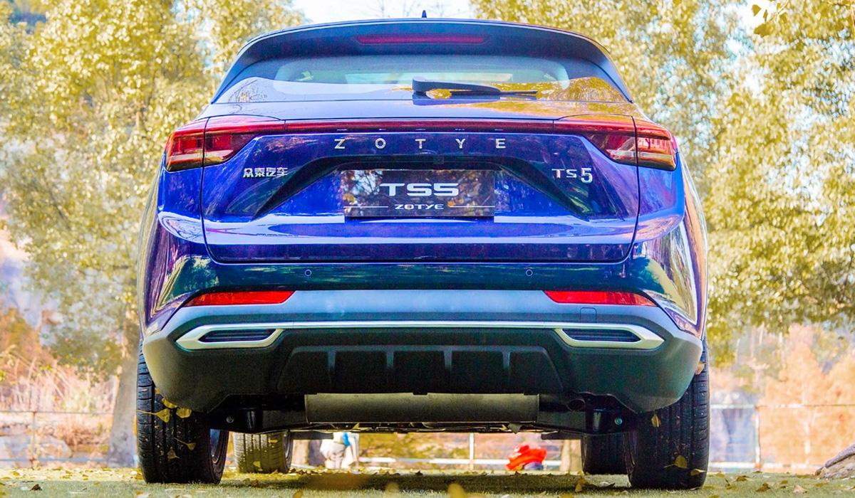 Кроссовер Zotye TS5 готов к выходу на рынок