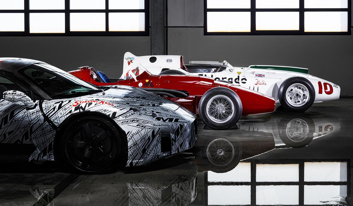 Прототип суперкара Maserati MC20 посвятили Стирлингу Моссу