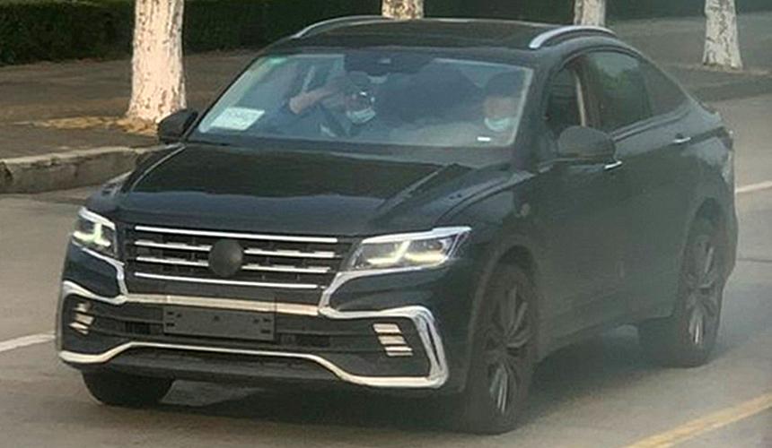 Купеобразный Volkswagen Tiguan сбросил почти весь камуфляж