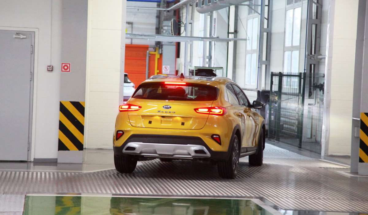 Автотор начал сборку кросс-хэтчбеков Kia XCeed