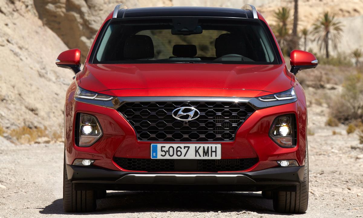 На подходе обновленный Hyundai Santa Fe