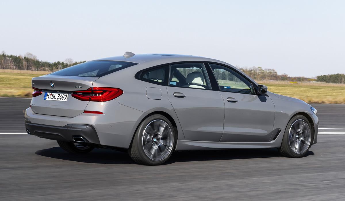 BMW шестой серии Gran Turismo: плановый рестайлинг — Авторевю