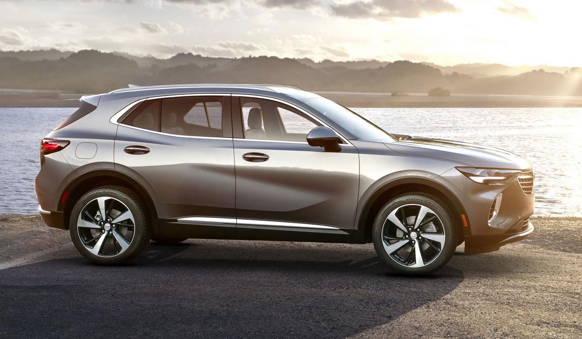 Кроссовер Buick Envision второго поколения: первая информация