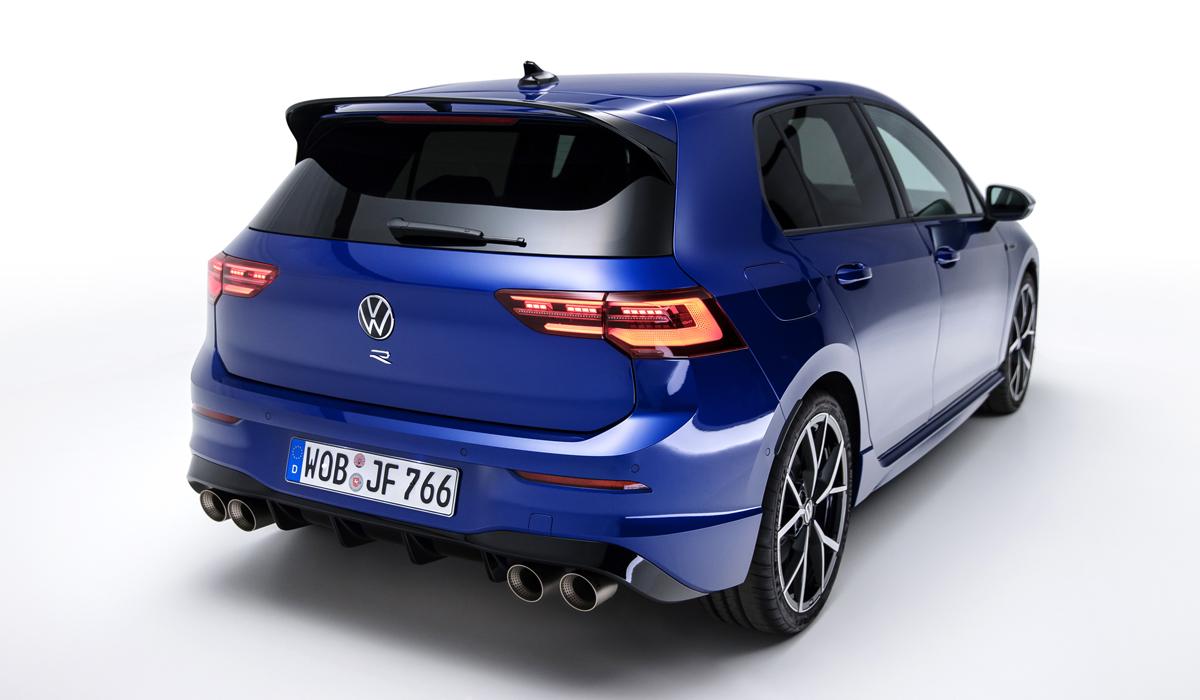 Представлен новый Volkswagen Golf R с дрифт-режимом