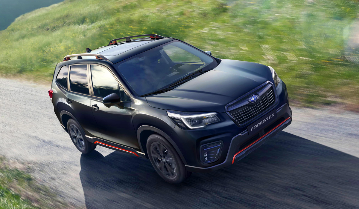 В Россию приедет Subaru Forester Sport, фары теперь светодиодные: но это не тот