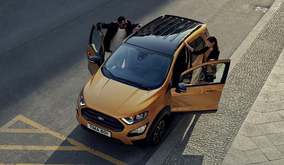 Ford EcoSport Active не для Российского рынка: официальный дебют внедорожника