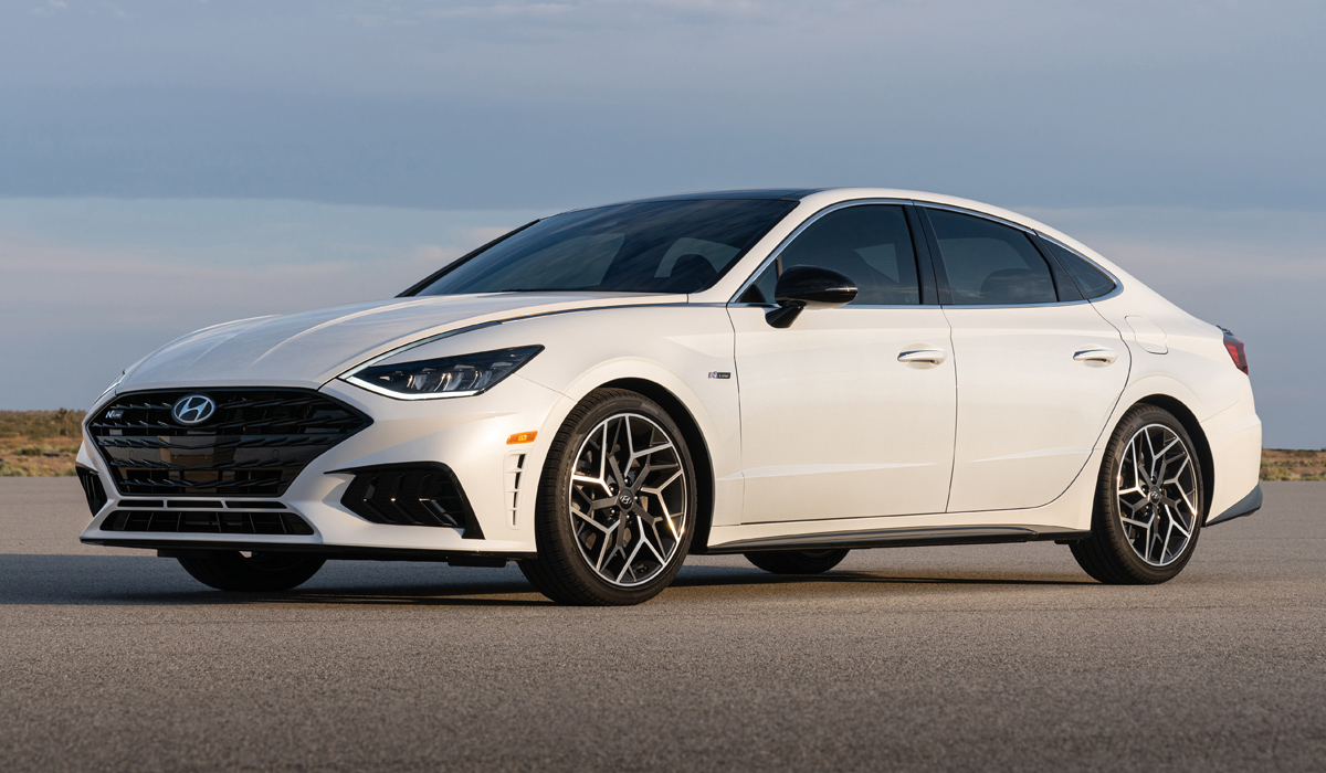 Мощный седан Hyundai Sonata N Line полностью рассекречены характеристики и цена