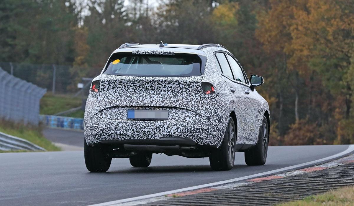 Kia Sportage следующего поколения замечен на Нюрбургринге