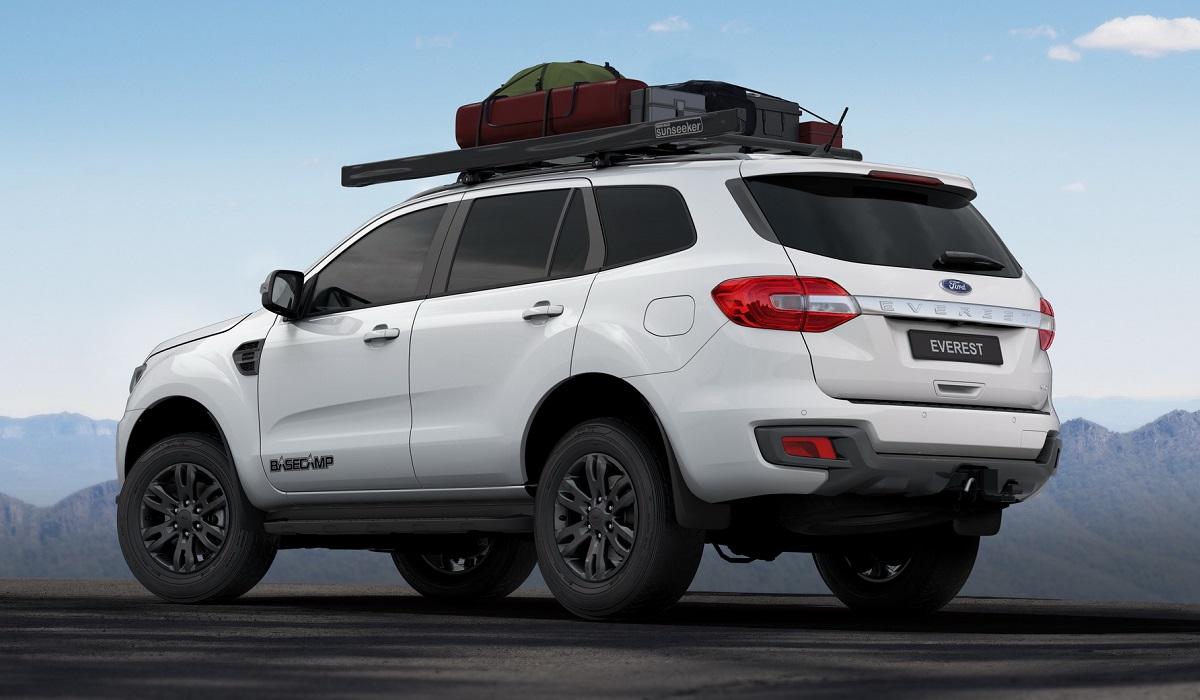 Ford Everest BaseCamp: внедорожник для путешествий