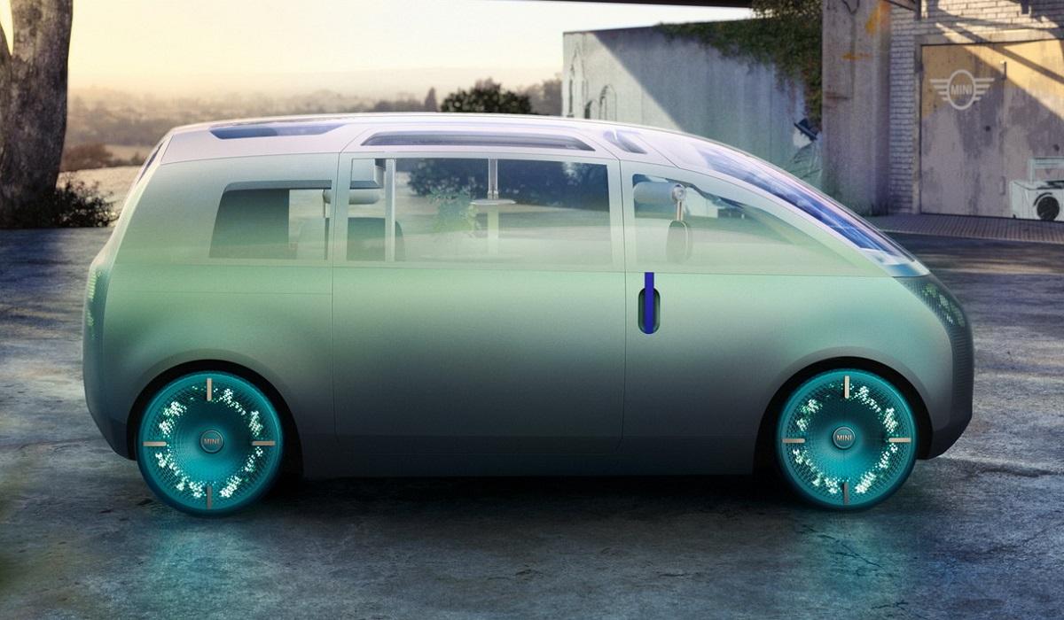 Mini Vision Urbanaut - однообъемник длиной 4,46 м, показал электрическое будущее бренда