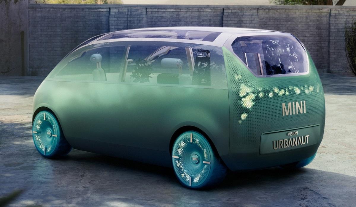 Mini Vision Urbanaut показал электрическое будущее бренда