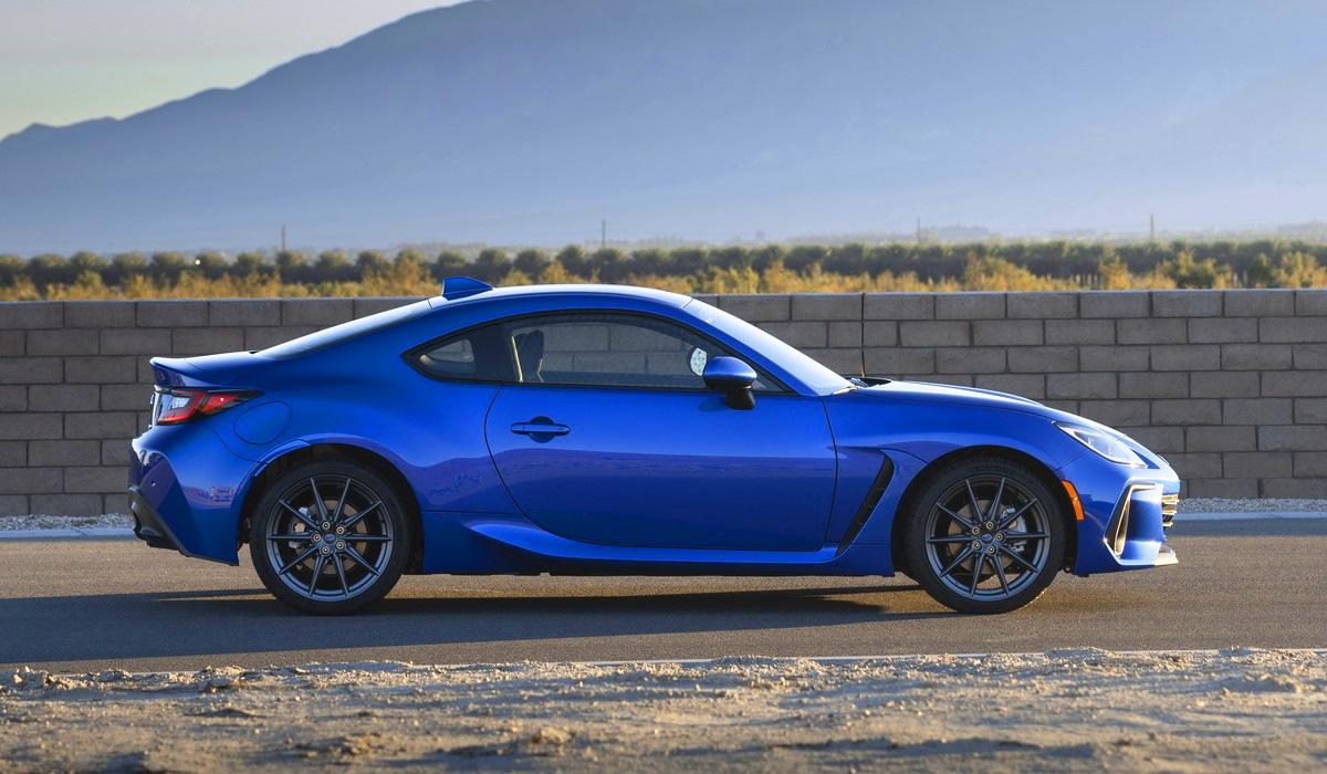 Subaru BRZ второго поколения: официальный дебют