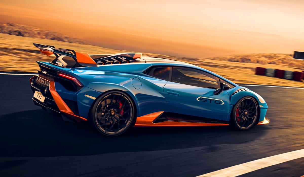 Представлен заднеприводный суперкар Lamborghini Huracan STO