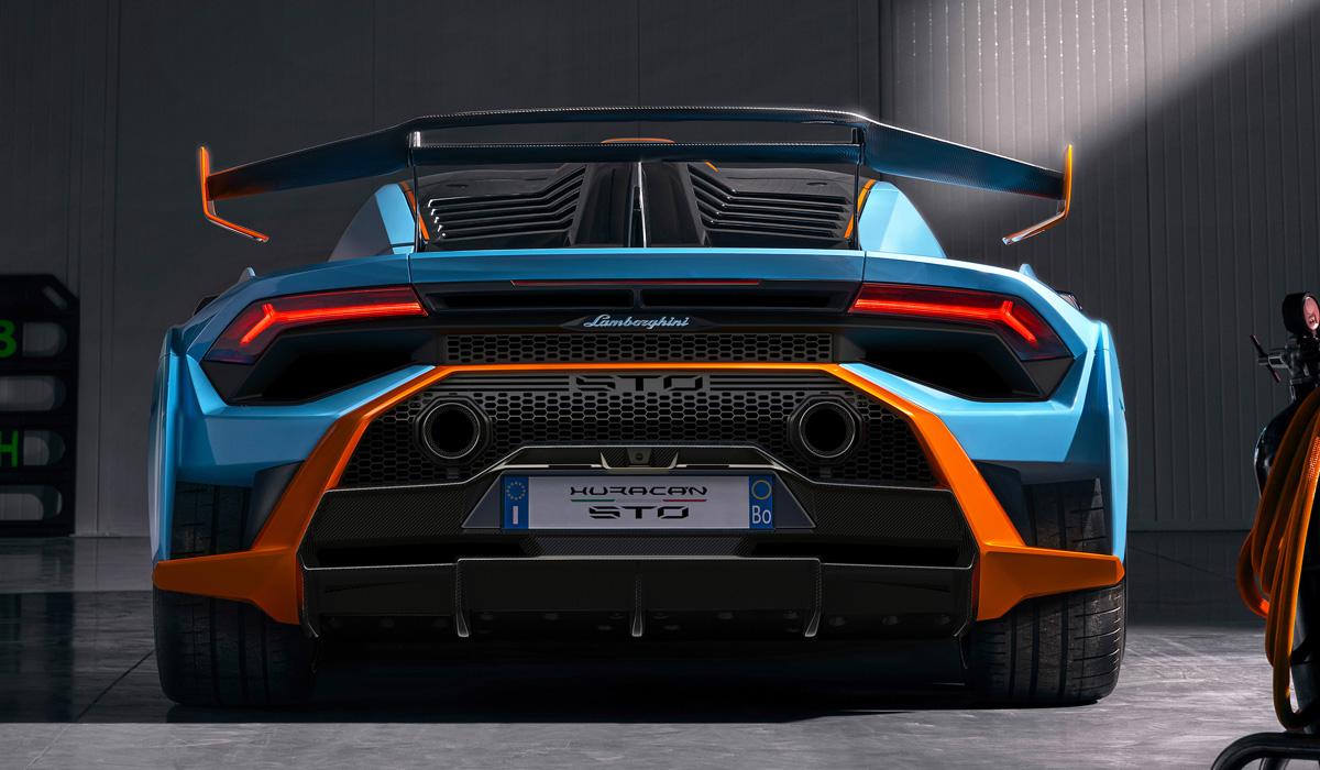 Представлен заднеприводный суперкар Lamborghini Huracan STO: сделан по другому рецепту