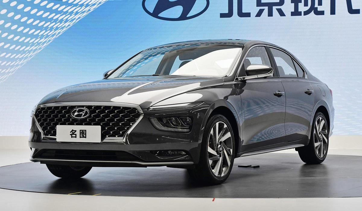 Седан Hyundai Mistra второго поколения щегольнул дизайном