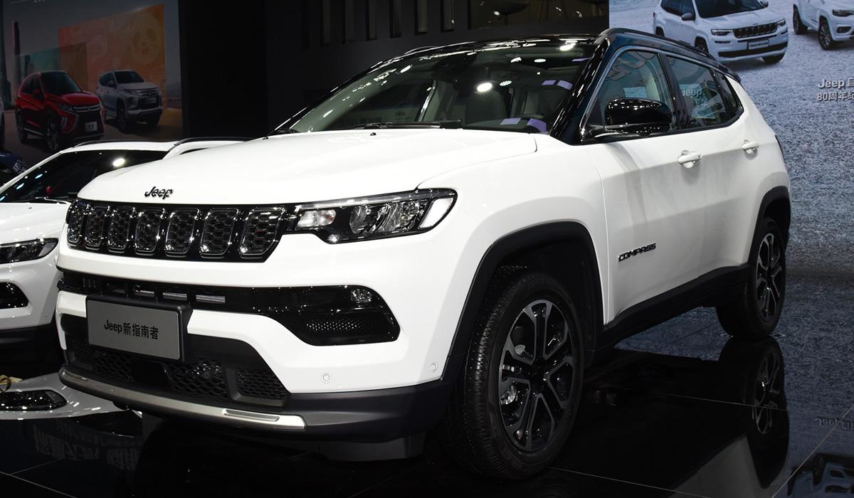 Обновленный Jeep Compass: мировая премьера в Китае