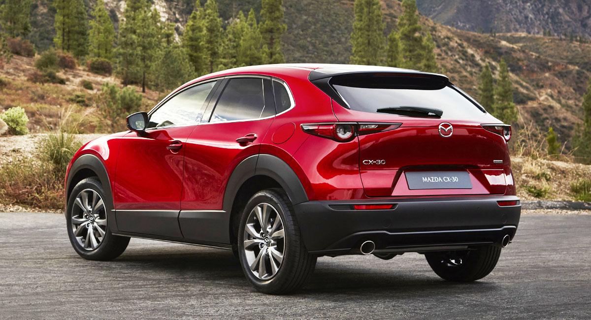 Mazda CX-30 для России: список версий и цена