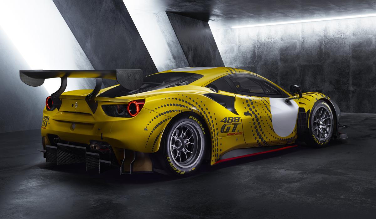 Ferrari 488 все еще в строю: новая версия для трек-дней