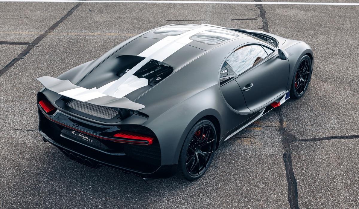 Линейку пополнил Bugatti Chiron Sport Les Légendes du Ciel: спецсерия в честь авиаторов