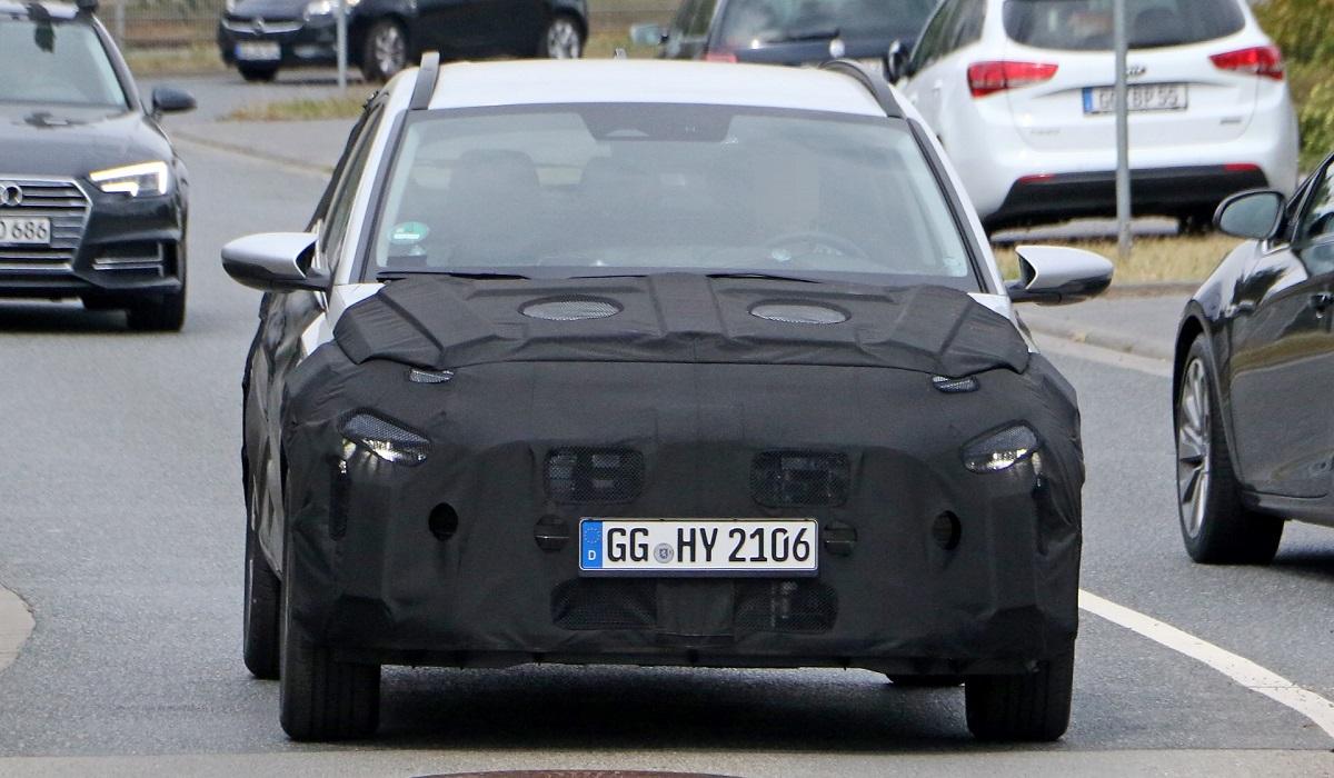 Маленький паркетник Hyundai Bayon вышел на испытания