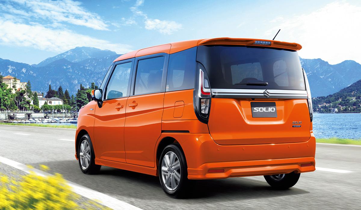 Микровэн Suzuki Solio стал практичнее в новом поколении