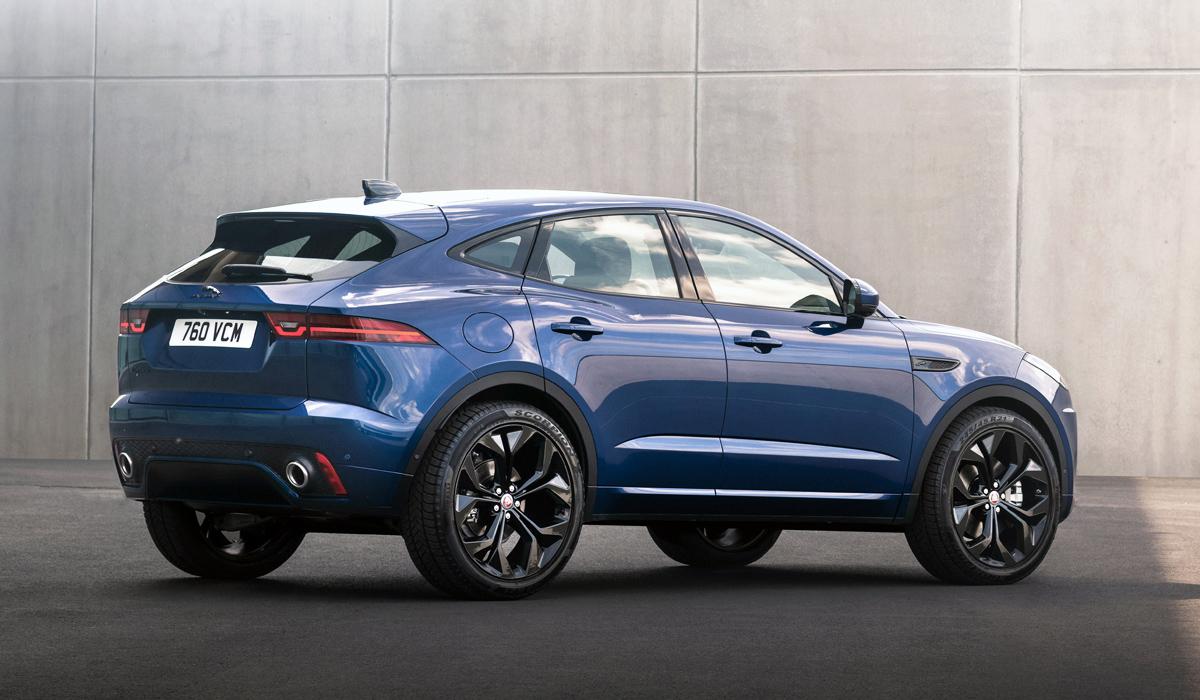 Кроссовер Jaguar E-Pace: обновление и расширенная гамма