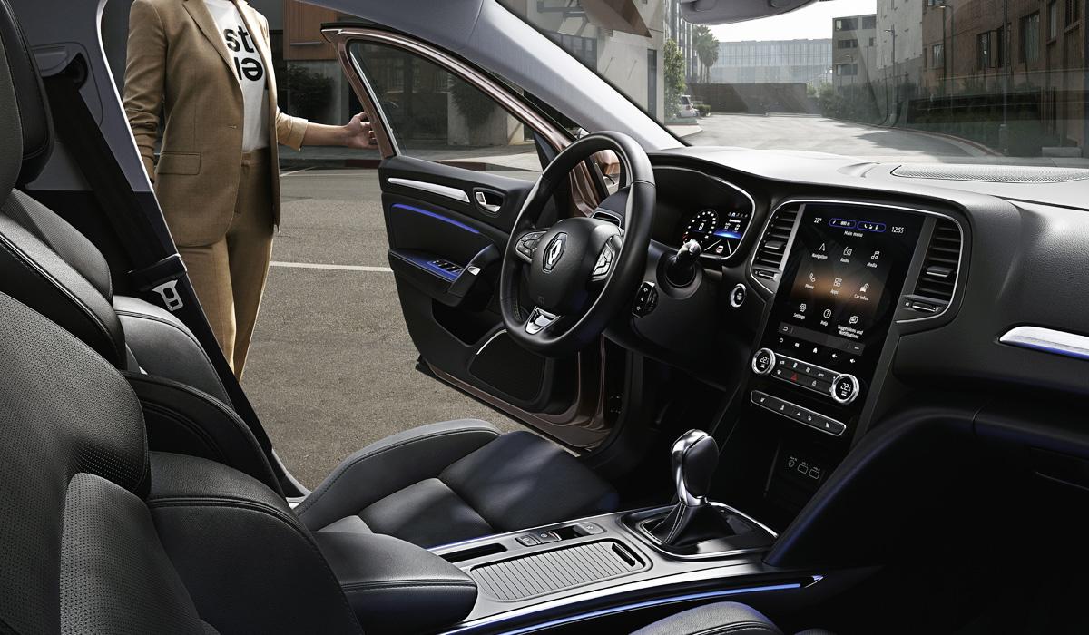 Обновленный Renault Megane: теперь и седан
