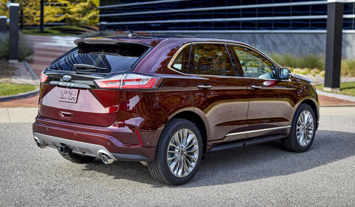 Обновленный американский Ford Edge пошел по стопам китайского