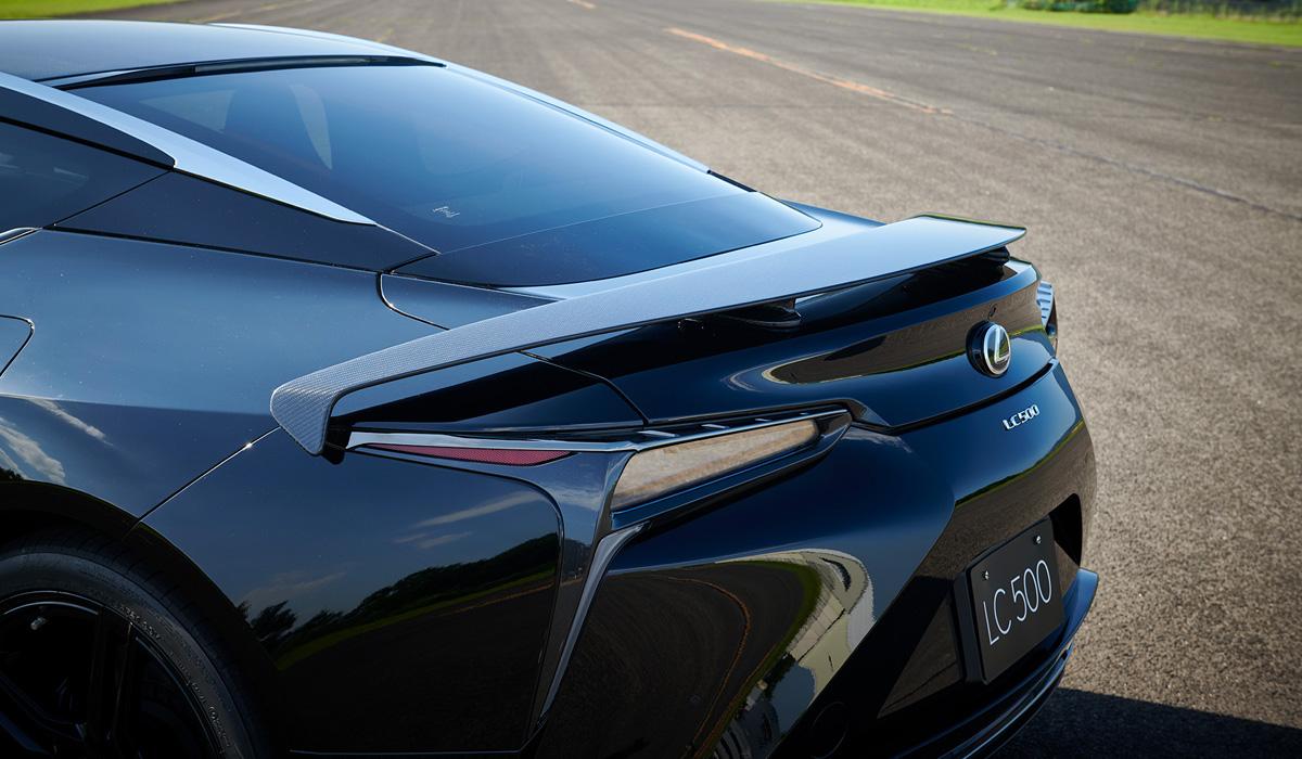 Представлено купе Lexus LC Aviation с особой аэродинамикой но для японского рынка