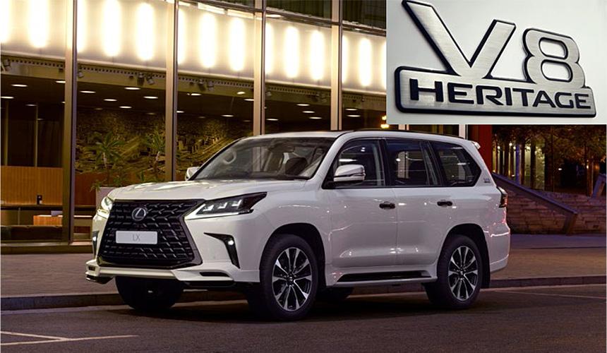 lexus lx heritage2 - Внедорожник Lexus LX: две новые спецверсии для России