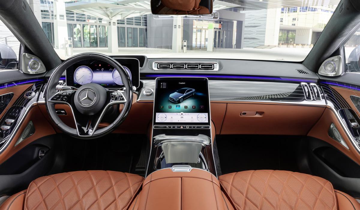 mercedes s class10 - Новый Mercedes-Benz S-класса: интерьерная революция