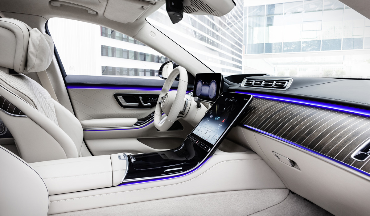 mercedes s class11 - Новый Mercedes-Benz S-класса: интерьерная революция