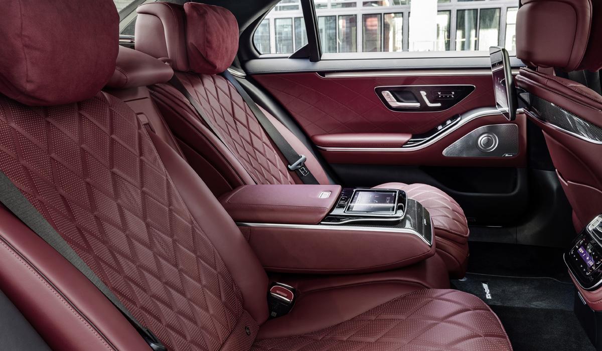 mercedes s class12 - Новый Mercedes-Benz S-класса: интерьерная революция