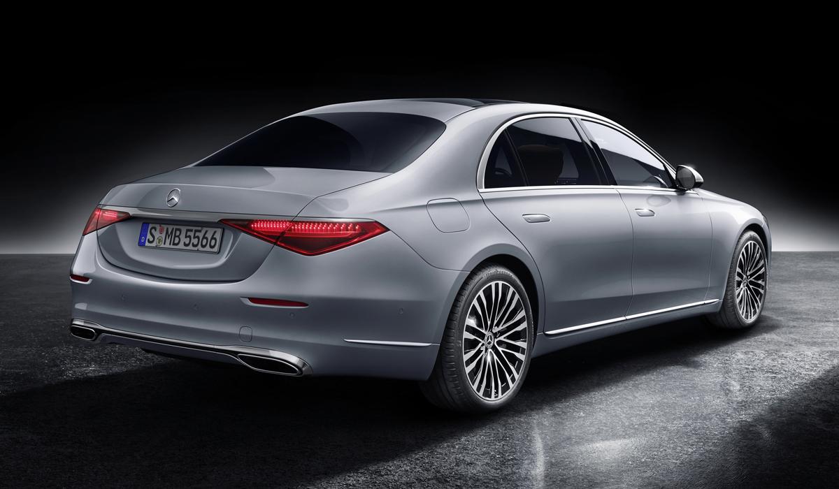 mercedes s class20 - Новый Mercedes-Benz S-класса: интерьерная революция