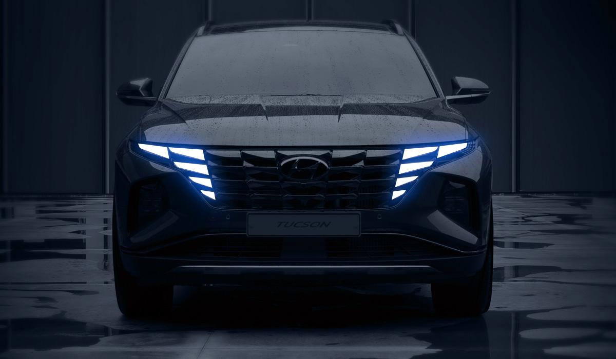 Новый Hyundai Tucson: первые изображения