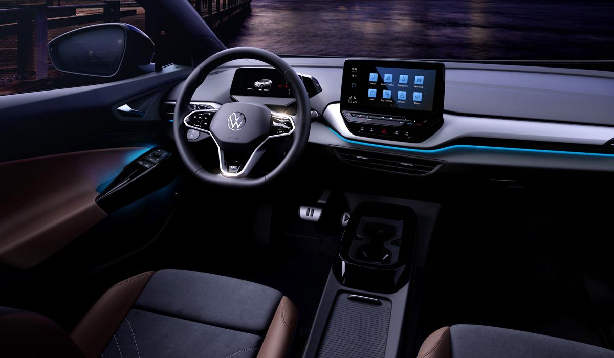 Рассекречен интерьер кроссовера Volkswagen ID.4