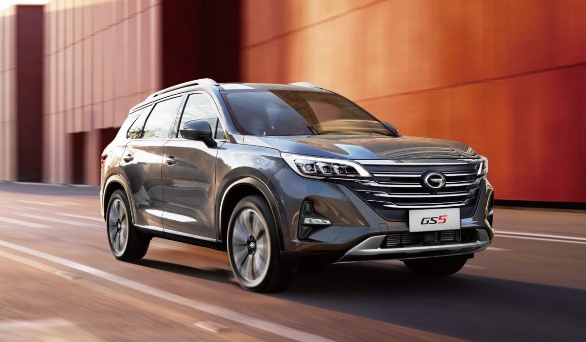 Кроссовер GAC GS5 вышел на российский рынок: объявлены цены