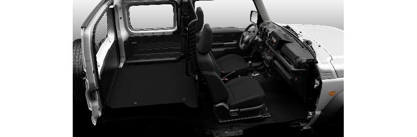 Suzuki Jimny стал грузовиком, чтобы остаться в Европе