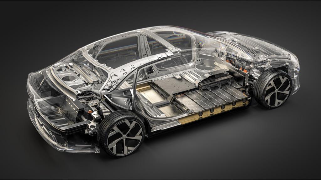 lucid air chassis1 - Серийный седан Lucid Air: объявлены характеристики и цены