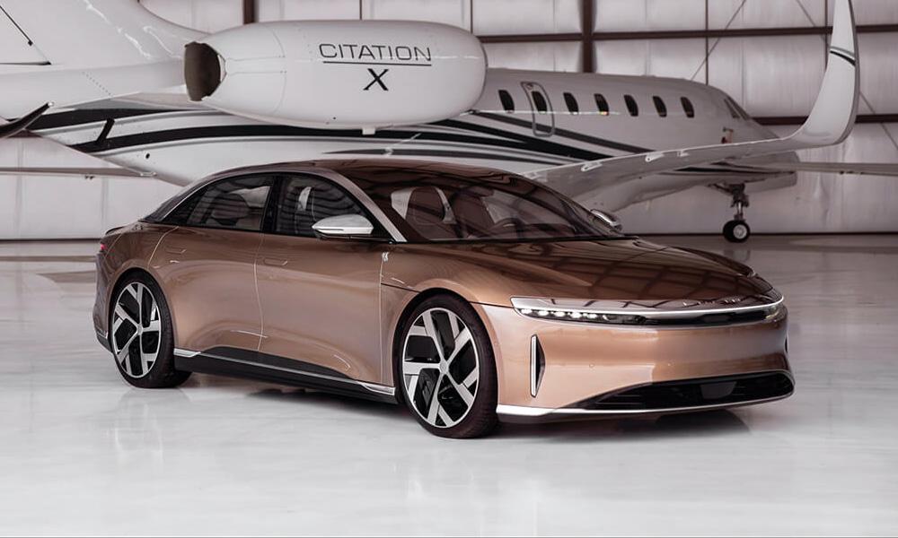 lucid air3 - Серийный седан Lucid Air: объявлены характеристики и цены