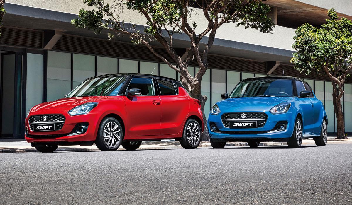 Обновленный Suzuki Swift для Европы: слабее и медленнее