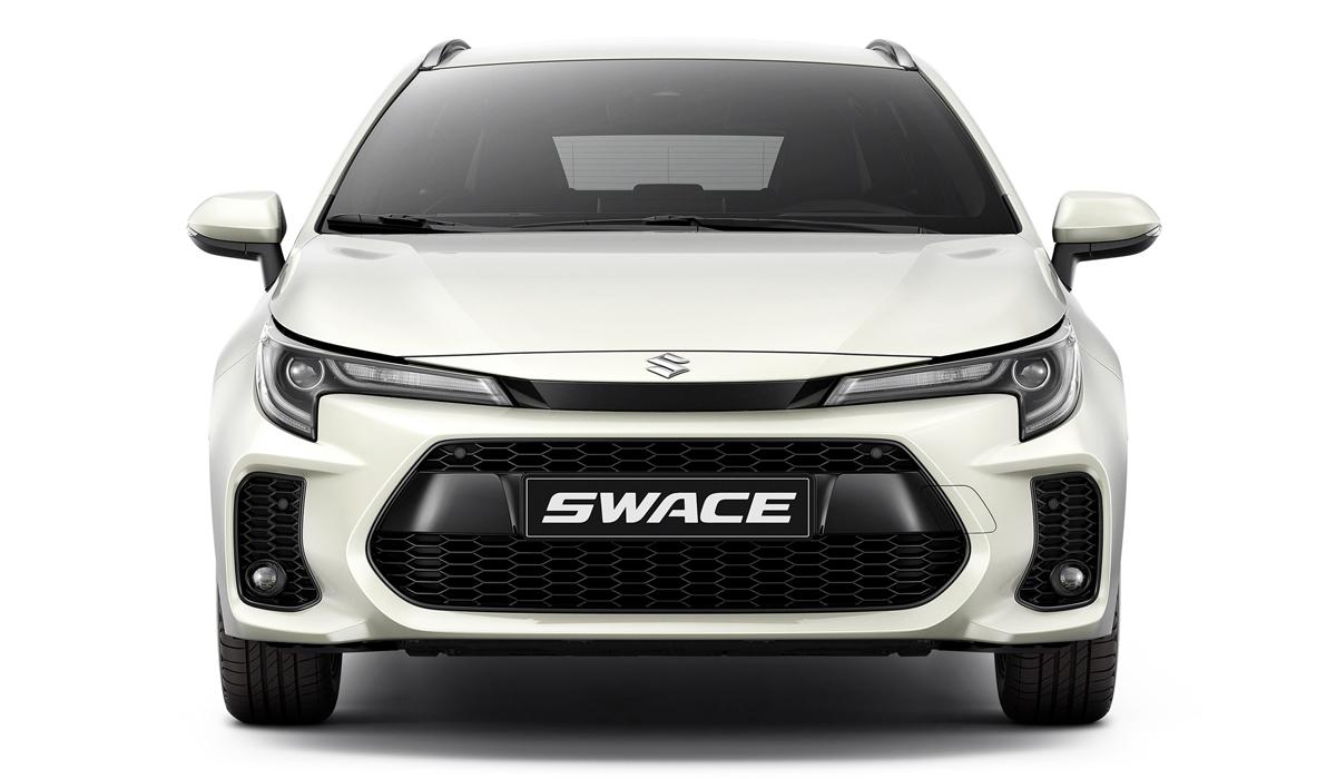 Toyota Corolla превратилась в универсал Suzuki Swace
